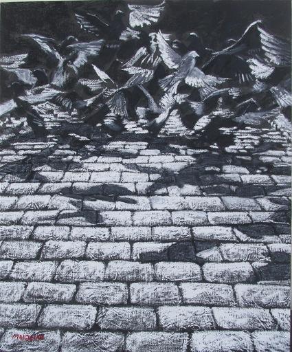 Carlo MAIOLINI - Peinture - L'Envol