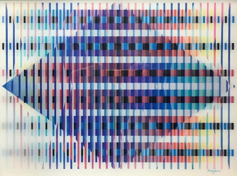 Yaacov AGAM - Druckgrafik-Multiple - Untitled
