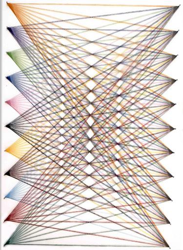 Sumit MEHNDIRATTA - Sculpture-Volume - Nailed it series No.109