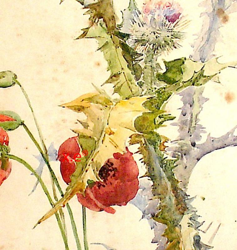Ulpiano CHECA Y SANZ - Drawing-Watercolor - Colmenar de Oreja  - Madrid