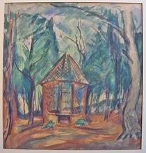 Emile Othon FRIESZ - Drawing-Watercolor - Le Pavillon