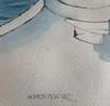 Hans-Peter WIRSING - Dessin-Aquarelle - Tim of Memories-Green Line