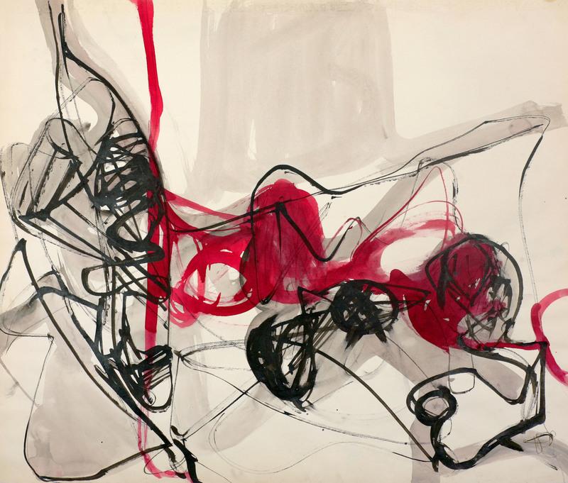 Biagio PANCINO - Drawing-Watercolor - Vitam e mortem n°1