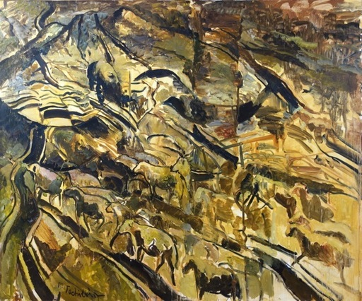 Mark TOCHILKIN - Painting - Shavout