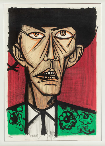Bernard BUFFET - Estampe-Multiple - Torero