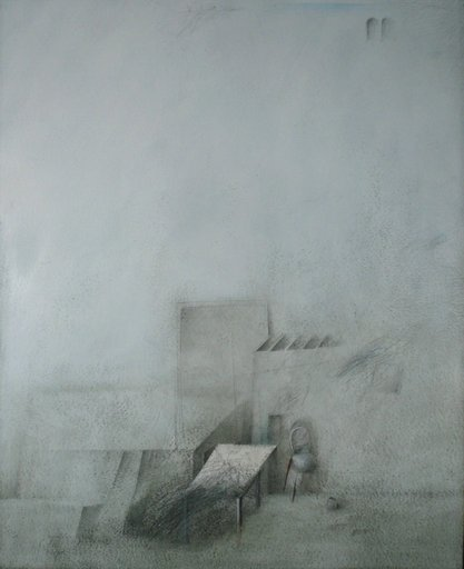 Karl Ludwig MORDSTEIN - Dibujo Acuarela - Ikarus Village