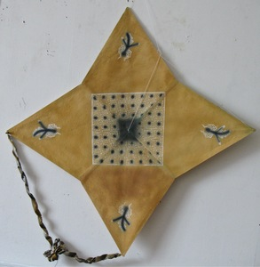 Francisco TOLEDO - Painting - Four star kite with grid