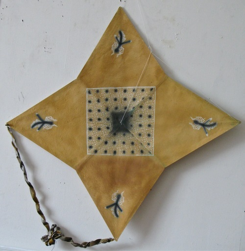 Francisco TOLEDO - Pintura - Four star kite with grid