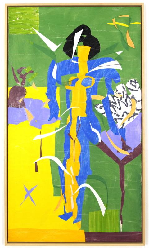 Christian BONNEFOI - Zeichnung Aquarell - D'après Matisse