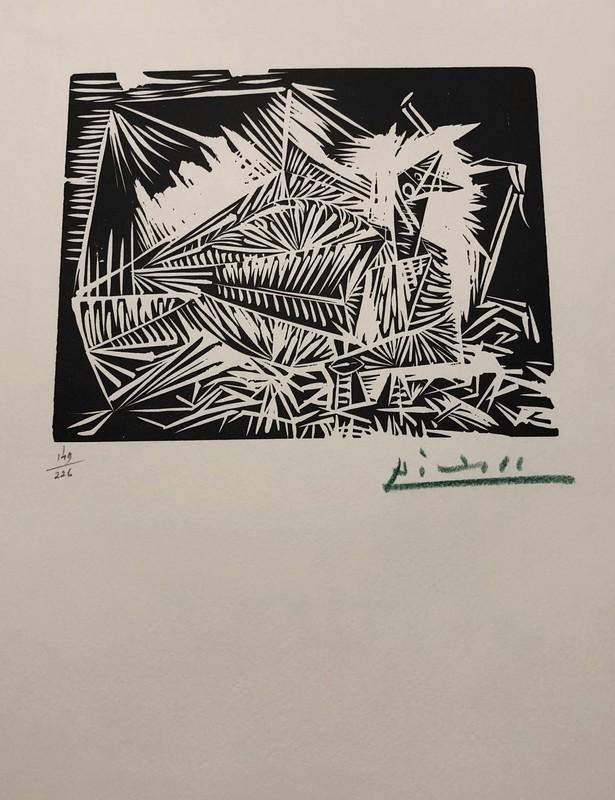Pablo PICASSO - Print-Multiple - Pigeonneau, from 40 Dessins de Picasso en Marge du Buffon