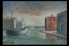 Carlo CARRA - Painting - Venezia