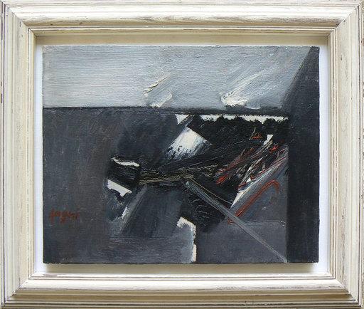 Piero RUGGERI - Painting - Paesaggio NF180