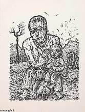 Aloys WACH - Drawing-Watercolor - Der Mensch ist gut