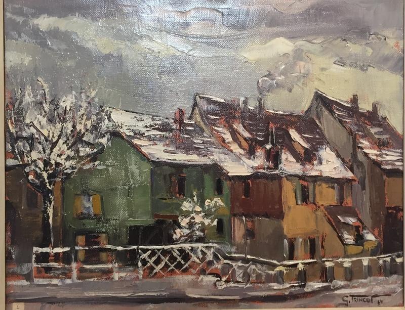 Georges TRINCOT - Pintura - Alt Colmar