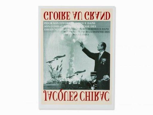 托马斯·鲁夫 - 版画 - Chiracs battle