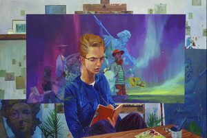 ANDREW HEM - Painting - The Planner