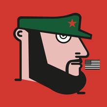 IABO - Sculpture-Volume - Fidel (Fidel Castro)