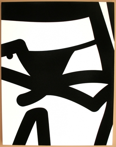 Julian OPIE - Sculpture-Volume - Bijou gets undressed no. 12