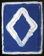 Bram BOGART - Grabado - Losange Blue