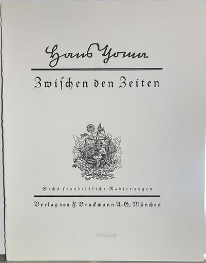 Hans THOMA - Estampe-Multiple - Zwischen den Zeiten