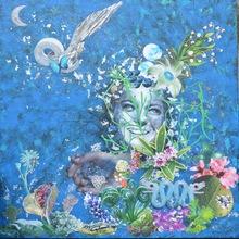 Laetitia DE GAULLE - Painting - Angel Romy