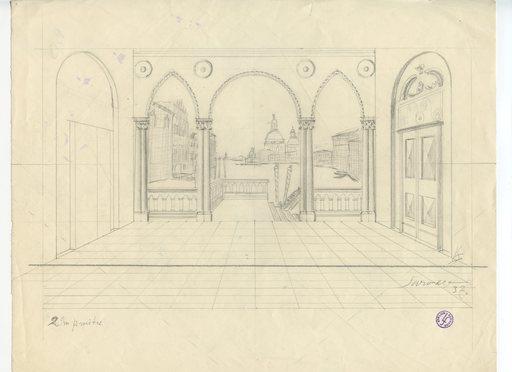 Léopold SURVAGE - Drawing-Watercolor - DESSIN SUR PAPIER SIGNÉ CRAYON HANDSIGNED PENCIL DRAWING