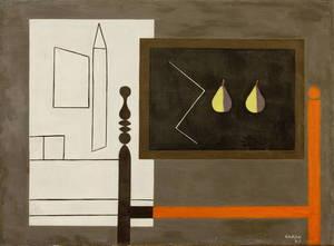 Augusto GARAU - Gemälde - La lavagna