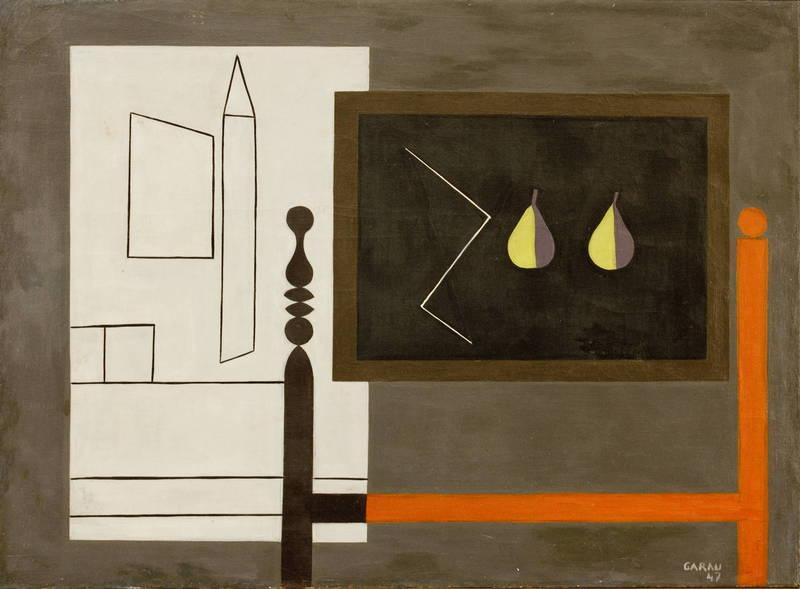 Augusto GARAU - Painting - La lavagna