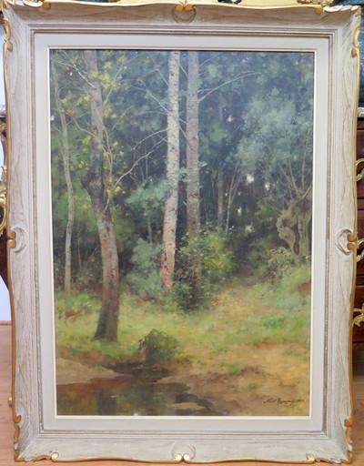 Albert REGAGNON - Peinture - Environs de Sentaraille