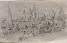 René SEYSSAUD - Drawing-Watercolor
