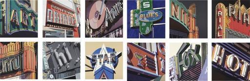 Robert COTTINGHAM - Print-Multiple - American Signs