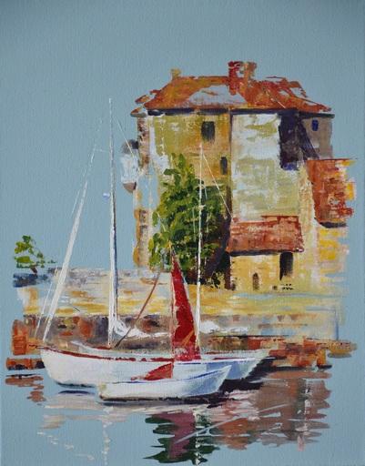 Diana KIROVA - Gemälde - L'old harbour
