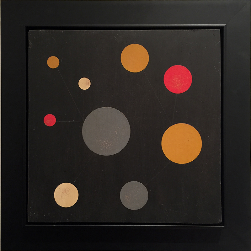 Loló SOLDEVILLA - Painting - Abstract Composition