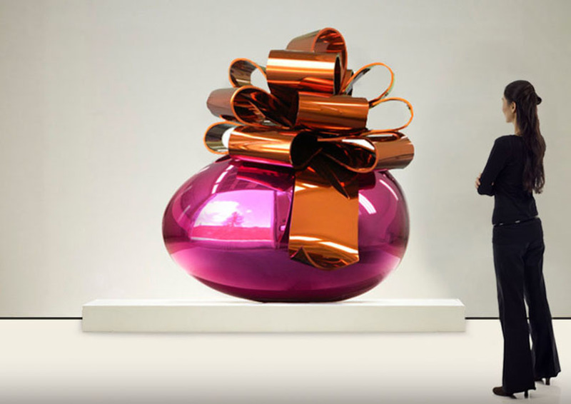 Jeff KOONS - Sculpture-Volume - Smooth Egg (Sold)