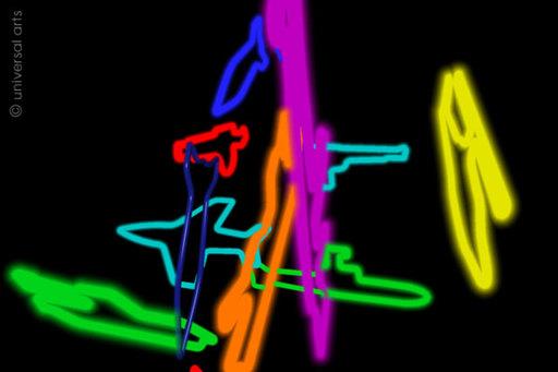 Mario STRACK - Print-Multiple - Disarmament 3 - Grafik / graphic ltd. Edition