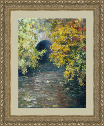 Levan URUSHADZE - Gemälde - Fall in the Central Park. New York