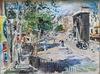 Lucien ADRION - Gemälde - Porte St. Martin