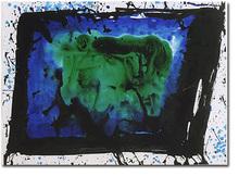 Sam FRANCIS - Pintura - SF75-900- acrylic on paper