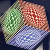 Victor VASARELY - Estampe-Multiple - Paula
