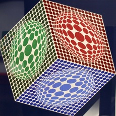 Victor VASARELY - Stampa Multiplo - Paula