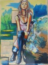 Philippe PAGANI - Peinture - Lolita mi-bas
