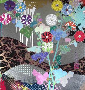 Takashi MURAKAMI - Grabado - Pure white