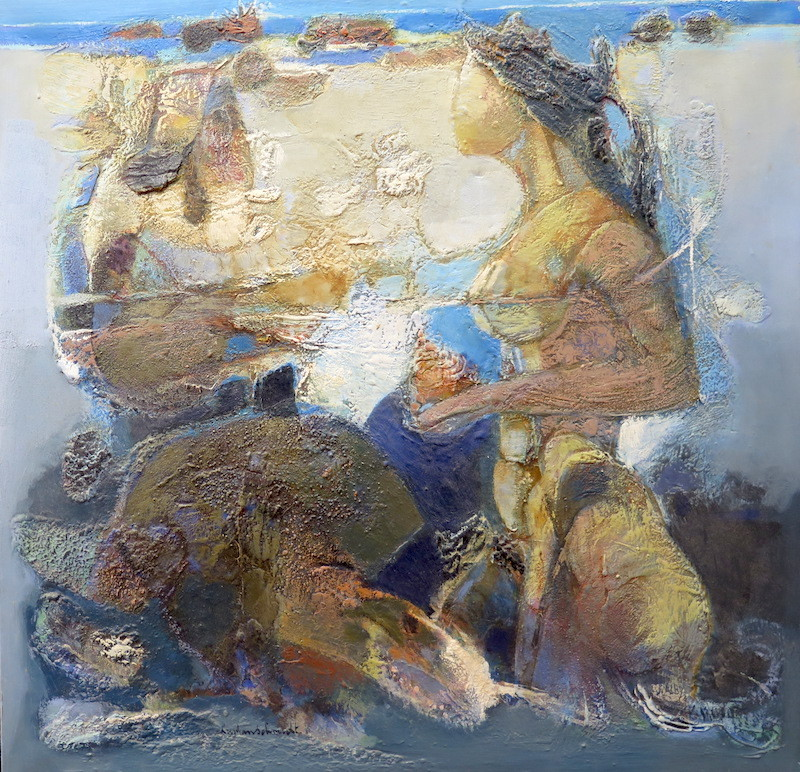Christian SCHMIDT - Pittura - Le coquillage rose