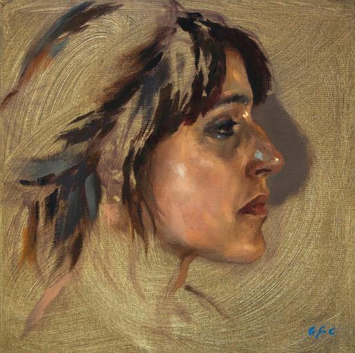 Jean-Christophe GONDOUIN - Peinture - Anna