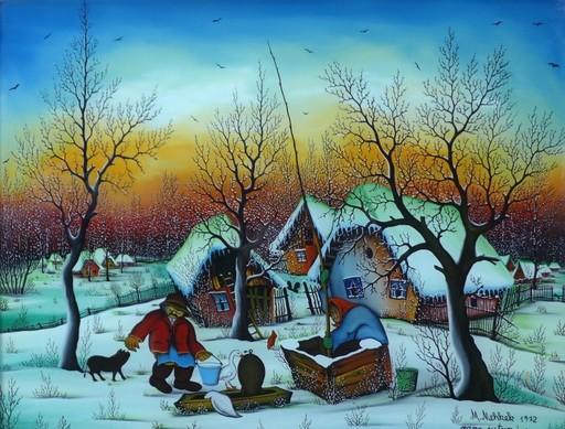 Martin MEHKEK - Peinture - Am frühen Morgen