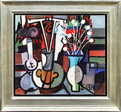 Claude VENARD - Peinture - Abstract Still Life