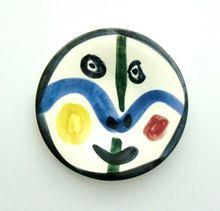 巴勃罗•毕加索 - 陶瓷  - Visage No. 0