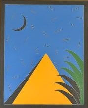 Franco ANGELI - Pintura - GIALLO CROMO