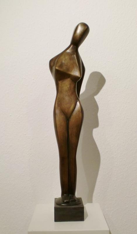Margarete MOLL - Sculpture-Volume - Stehende