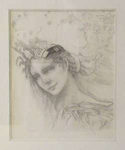 Femme A La Coiffure Alain Jacquet Vente En Ligne Art Artprice